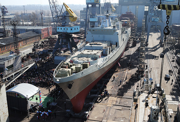Фрегат «Адмирал Григорович» проекта 11356