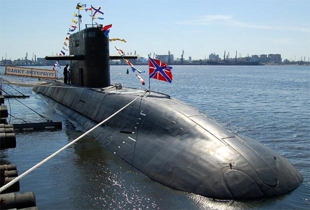 Подводная лодка «Санкт Петербург» проекта 677