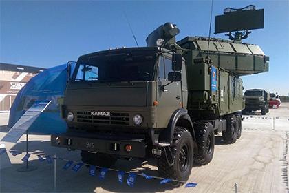 ЗРК «Тор-М2КМ» на шасси КАМАЗ