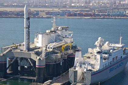 Ракета-носитель «Зенит-3SL» на плавучей платформе Odyssey