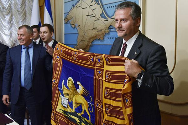 Владимир Константинов и Роберто Чамбетти