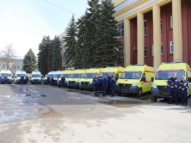 29 автомобилей скорой помощи переданы Нижегородскому центру медицины катастроф