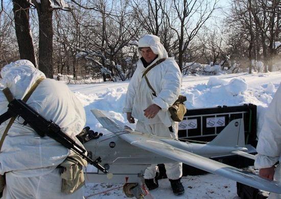 """БПЛА """"Орлан-10"""" (фото Минобороны России)"""