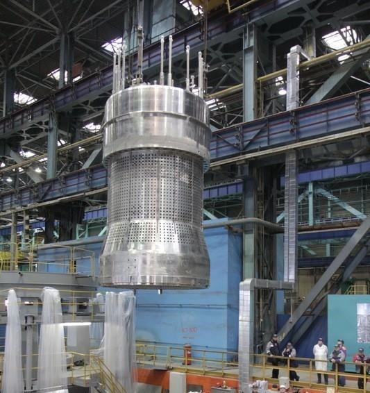 БЗТ реактора ВВЭР-1200