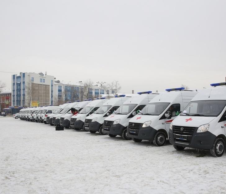 В Иркутскую область поступили 17 автомобилей скорой помощи, приобретенных за счет средств федерального бюджета