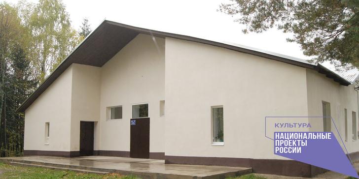 Дом культуры в деревне Затеиха, Пучежского района, Ивановской области