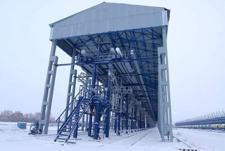 Омский НПЗ внедряет передовые системы отгрузки нефтепродуктов