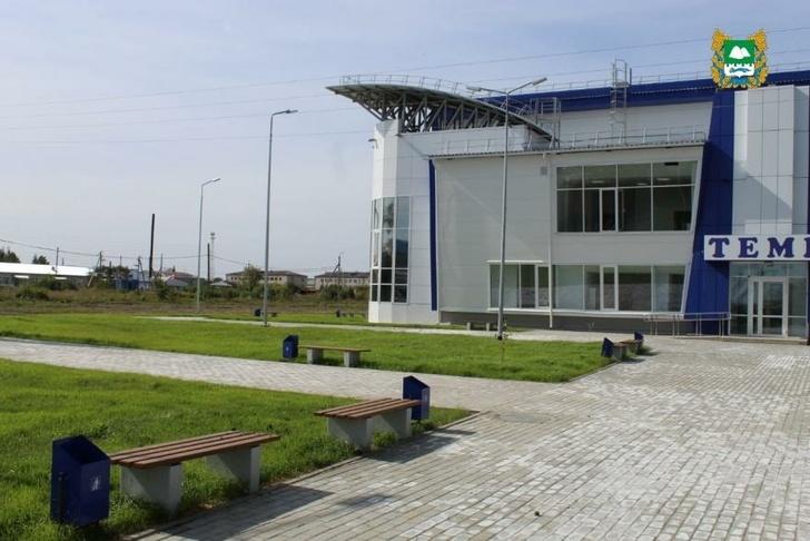 В Курганской области появился новый спорткомплекс