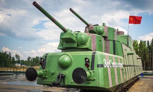 Мотоброневагон МБВ-2 1939