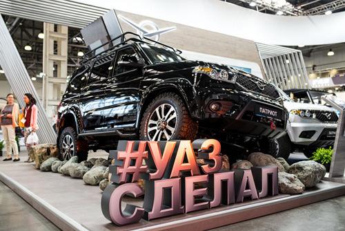 Хештэг #УАЗсделал подготовлен к старту производства УАЗ Патриот в комплектации Оффроуд с установленной электрической лебедкой.