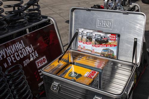 Защищенные кейсы РИФ — надежные емкости для транспортировки.
