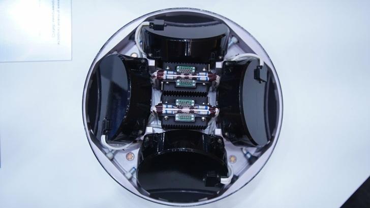 Блок измерения угловой скорости с акселерометрами (БИУС)