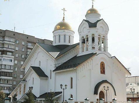 В Красноярске построили православный старообрядческий храм title=