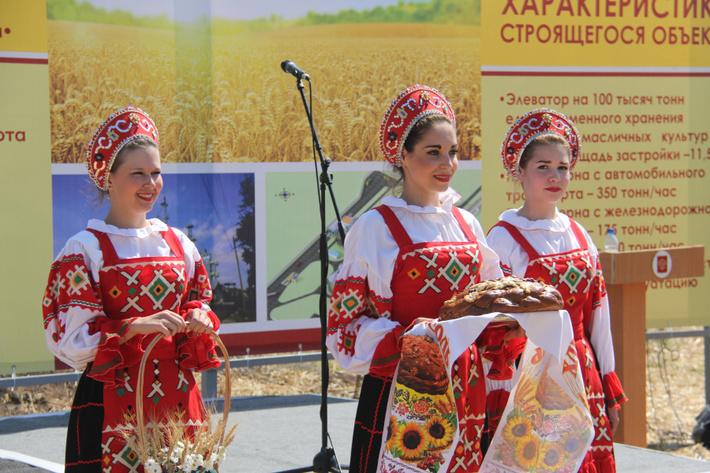 В Орловской области заложили новый элеватор вместимостью 100 тысяч тонн