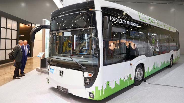 Компания «КАМАЗ» представила новую модель электробуса для российских городов
