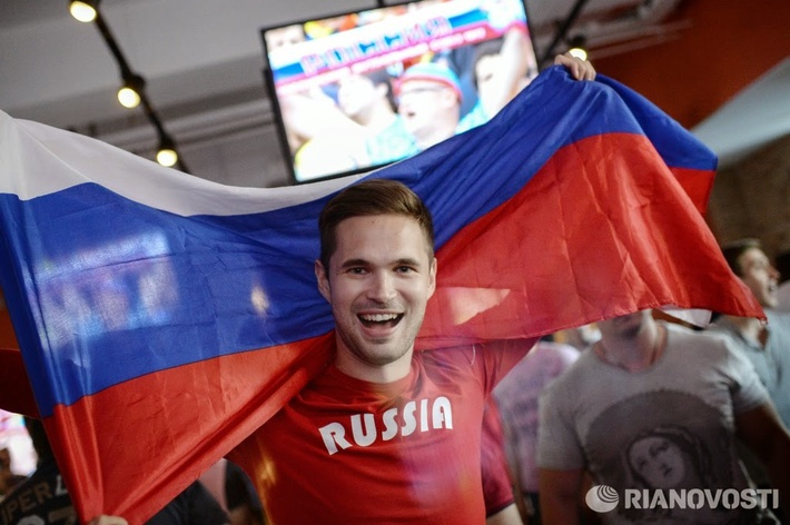 УРА! Знаменосец сборной России Анатолий Ряполов завоевал ...
