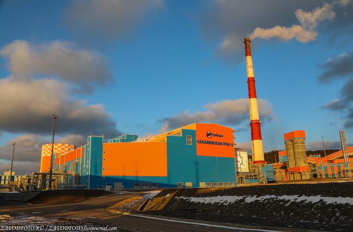 Фоторепортаж о новой угольной Сахалинской ГРЭС-2 в Сахалинской области