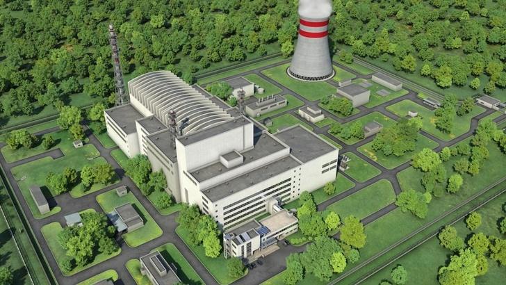 Будущий вид реактора МБИР
