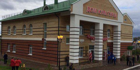 Виктор Басаргин открыл Дом спорта и пожарное депо в Пермском районе
