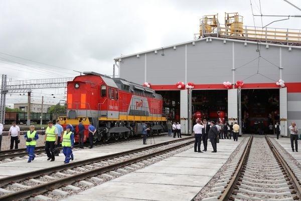 В Уссурийске открыт новый корпус технического обслуживания локомотивов