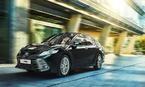 На петербургском заводе Toyota налажена сборка обновленных Camry