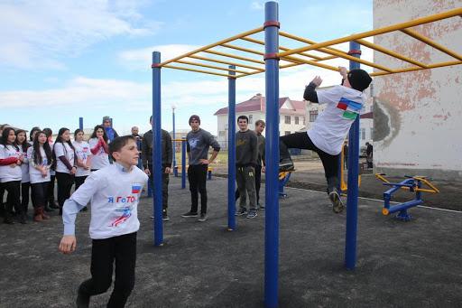 Три новые спортплощадки появились в Кабардино-Балкарии