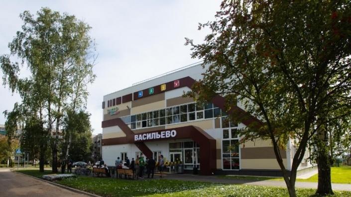 Новый спортивный зал в Зеленодольском районе