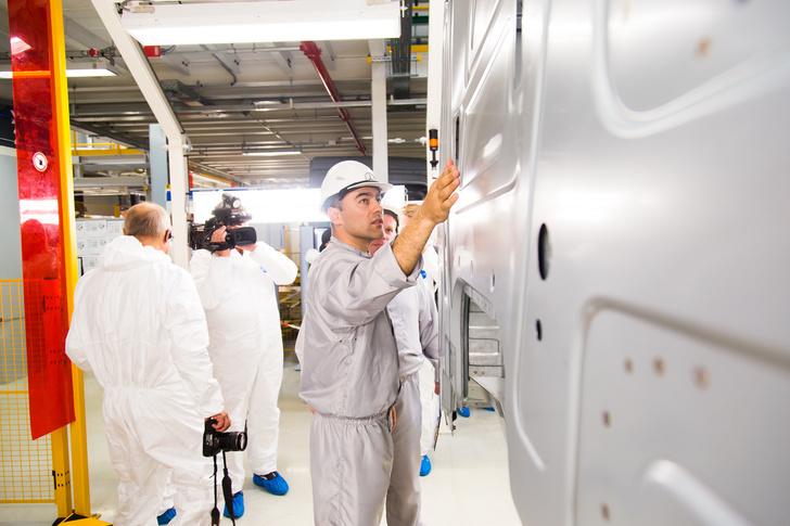 На КАМАЗе в Набережных Челнах открыт новый завод по производству каркасов кабин