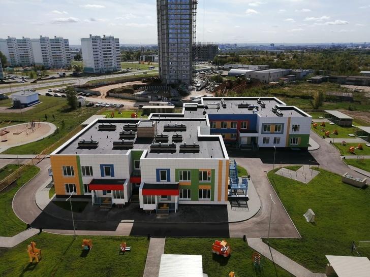 В Татарстане открылись два новых детских сада