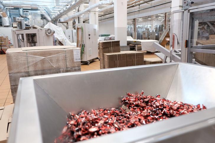 В Набережных Челнах открылась линия по производству жевательной карамели