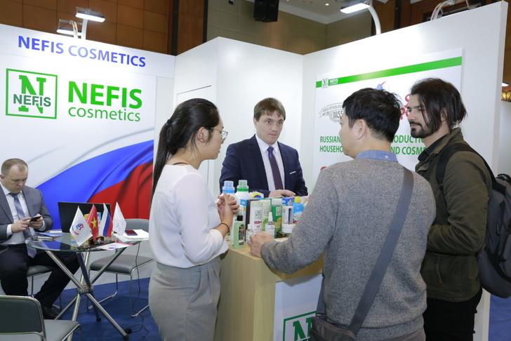 «Нэфис косметикс» начала поставки моющих средств в торговую сеть Вьетнама
