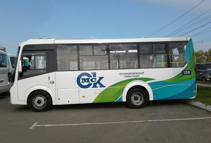 В Омске распределили по маршрутам еще 25 новых автобусов «ПАЗ Вектор Next»
