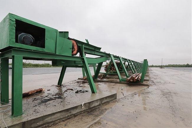 В Вологодской области запущен новый деревоперерабатывающий завод