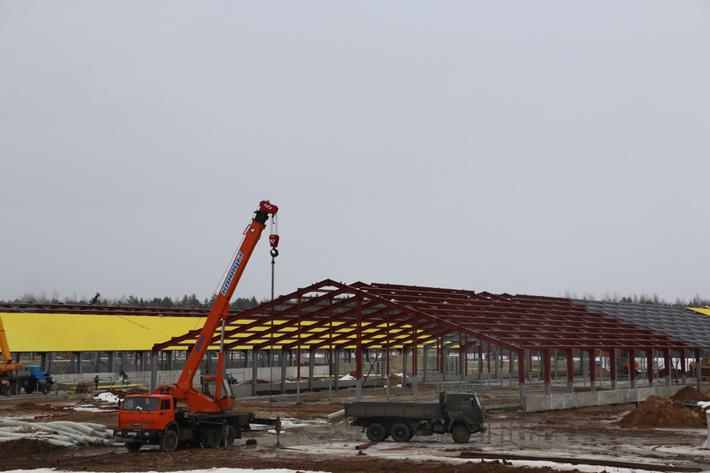 строительство комплекса весна 2016 г.