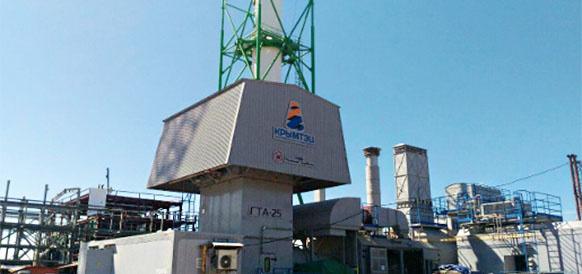Запуск турбин прошел на Сакской ТЭЦ