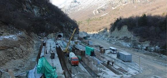 На Верхнебалкарской малой ГЭС начато строительство второго деривационного тоннеля
