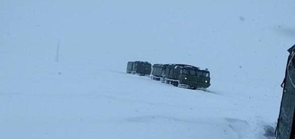 Военнослужащие Северного флота испытывают новое оборудование в условиях Арктики