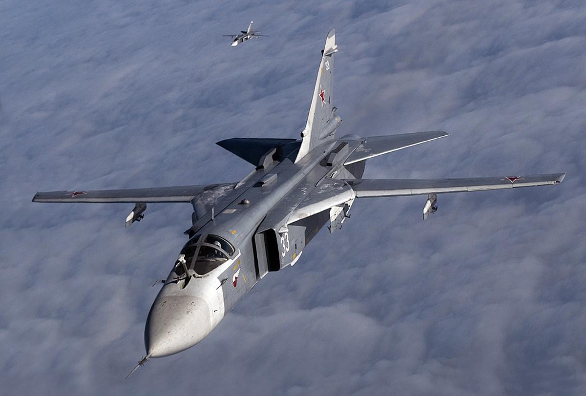фото самолёта су-24