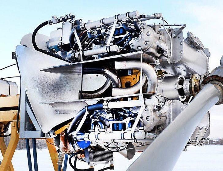 Полностью алюминиевый двигатель / НГТУ