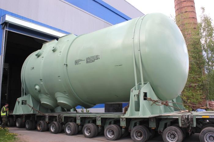 Отгрузка корпуса реактора энергоблока №4 Ростовской АЭС, фото: ОМЗ
