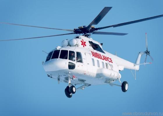 """Ми-17-1ВА версии """"летающий госпиталь"""""""