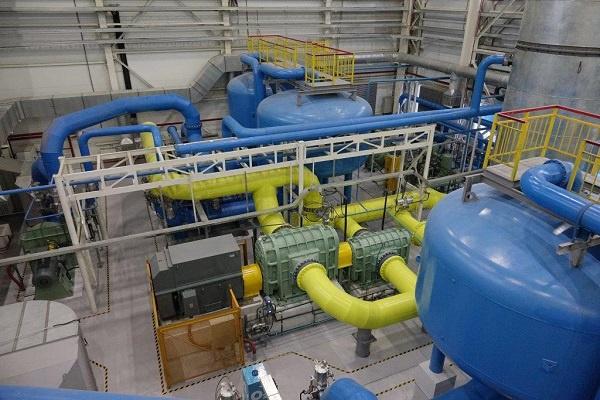 На Медногорском медно-серном комбинате в Оренбургской области запустили кислородную станцию