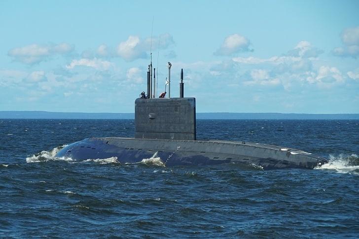 Подлодка «Петропавловск-Камчатский» совершила успешное погружение