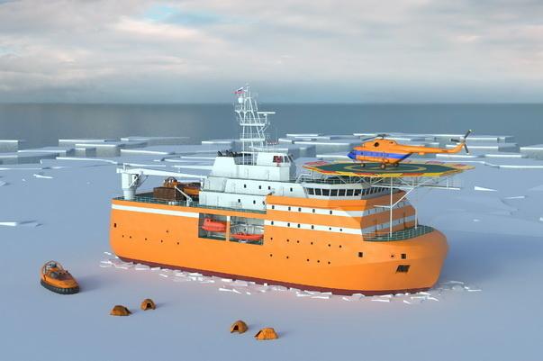 Первый этап модельных испытаний платформы «Северный полюс» завершен в Петербурге