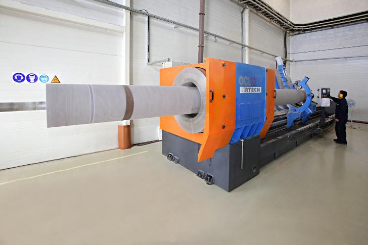 Новое оборудование для обработки изоляции 500–750 кВ