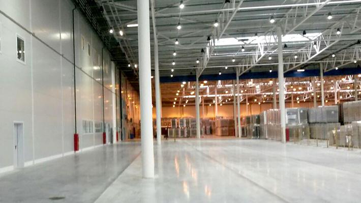 Производственная площадка по выпуску гофрокартона