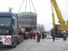 На Балтийскую АЭС отправлена ловушка расплава реакторной установки первого энергоблока