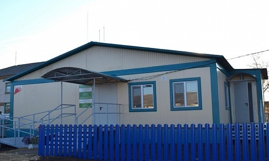 В селе Татыр-Узяк Хайбуллинского района Башкирии открылся новый ФАП