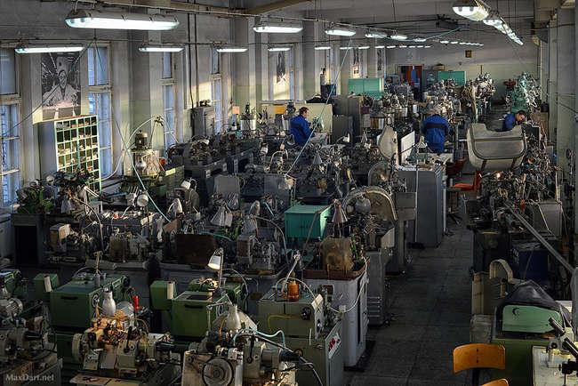 Экскурсия на завод часов Ракета (ПЧЗ)