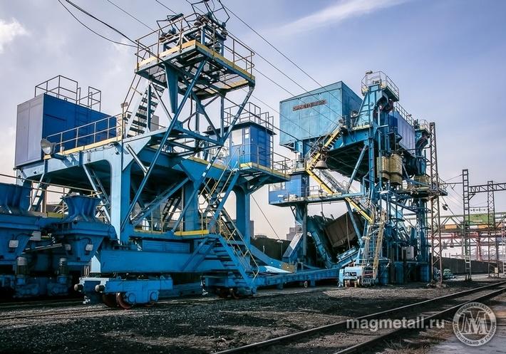На коксохимическом производстве ММК запущен новый разгрузочный комплекс